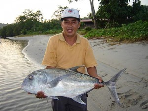 fishing in kudat